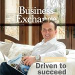 Derrick Christy on the cover of SouthSide Business Exchange.